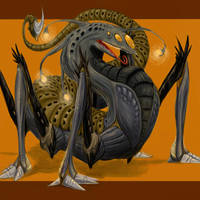 Alien Creature Thing by Lizzy-John