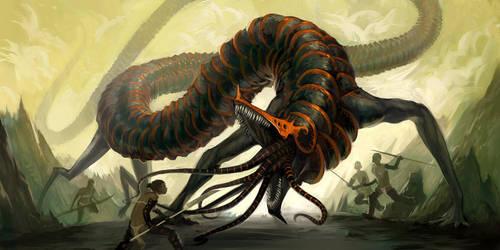 Salamander by Lizzy-John