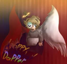 Happy birthday Dapper TV or BurntLime by Galaxyrainbowgirl