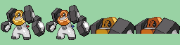 Melmetal 64x64 for GBA by JaegerLucciano23