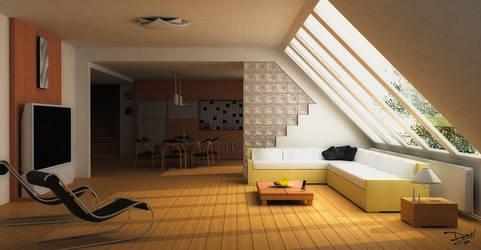 Modern Interior by 2D-3Daniel