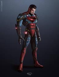 Cyborg Superman by CharlesLogan
