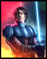 Star Wars: The Clone Wars - Anakin by CharlesLogan