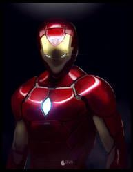 Iron Man by CharlesLogan