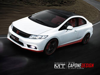 New Honda Civic COUPE by CaponeDesign