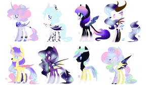 MLP Bred Adopts - Muse Foals (4/8 Open) by ProjectBlastArt