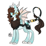 MLP Auction - Scaled Brunette (Open) by ProjectBlastArt