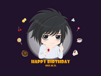 Happy Birthday to L 2013 by HagaHotaru