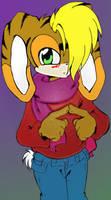 Sonic Kids -- Waffle by StrawberryHedgehog