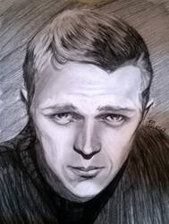 Steve Mcqueen by thewomaninred
