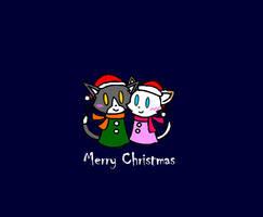 NecojixCatherine - Christmas 2011 by catgirl140