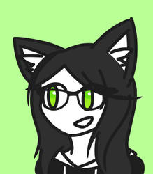 This is me, Monica. by catgirl140