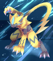 Zeraora by ffxazq