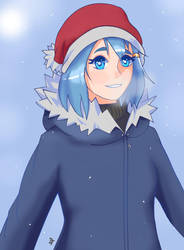 Cold Winter - Umi (OC) by DEETEEh