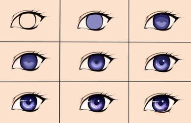 Eye steps by Maruvie