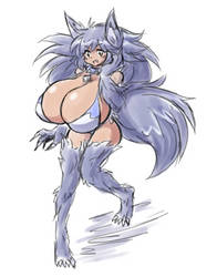 022019 Werewolf Girl by PaulGQ