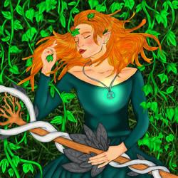 Lia vines by SilverMoonWings