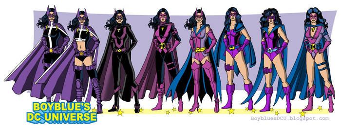 The Huntress from Batman by BoybluesDCU