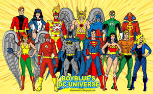 Justice League of America (JLA satellite years) by BoybluesDCU