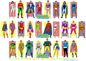 Legion of Super-Heroes of the Silver Age, 1960s by BoybluesDCU