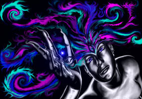 Give the gift of art Challenge  ( Limitless) by icemaidenArt