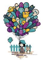 Balloon Boy by Shaima