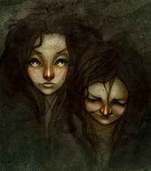 The two sides by enmi