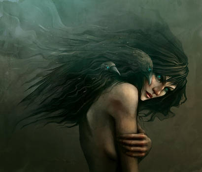 She calls the Crows by enmi