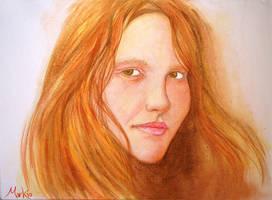 Portrait study-1 by markhossain