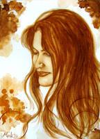 Portrait in Coffee by markhossain