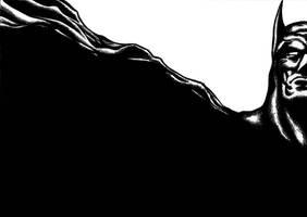 Batman Inked by markhossain