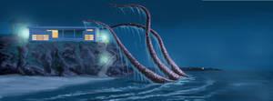 Malibu Sea Monster by FredStesney