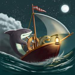 Night Boat by FredStesney