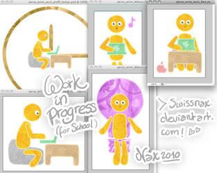 WIP - School animation project by SwissNax