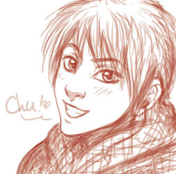 Chu - photoooshop sketch by SwissNax