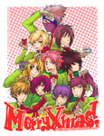 bishonen xmas tree :: by makiyan
