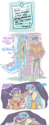 MU : in which sulley infuriates mike :: by makiyan