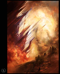 beyond the wasteland by Broken-Lithium