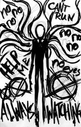 31. Slenderman by ElianaStarlight