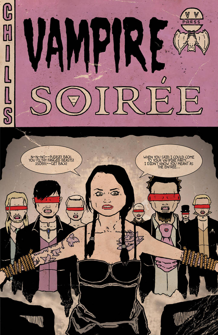 Vampire Soiree Coloured. by Andrewreed