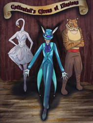 Cottontail's Circus by Durare