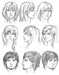 Headshots of Characters from BS+WC by Durare