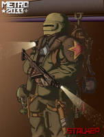 Stalker Metro 2033 by Picarus