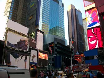 Times Square by blackcatdnangel