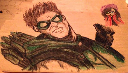 The New 52 Green Arrow by blackcatdnangel
