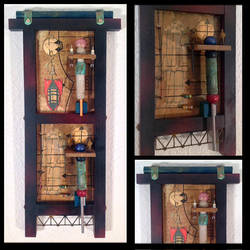 Spare Parts  assemblage by Dennis Jordan by boltpost