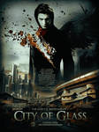 City of Glass Movie Poster by Ardawling