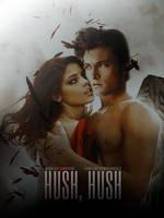 Hush, Hush Poster by Ardawling