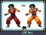 Extreme Butoden - Gokule by Mangal666