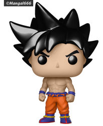 Test - Pop Dbs Goku (Ultra Instinct) Color Swap by Mangal666
